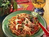 Spaghettini in Tomaten-Tabascosoße Rezept