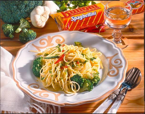 Spaghettini mit Broccoli Rezept
