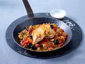 Spanische Hähnchenpfanne Rezept