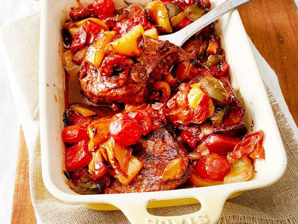 Spanische Ofen-Schmorsteaks Rezept