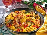 Spanische Paella Rezept