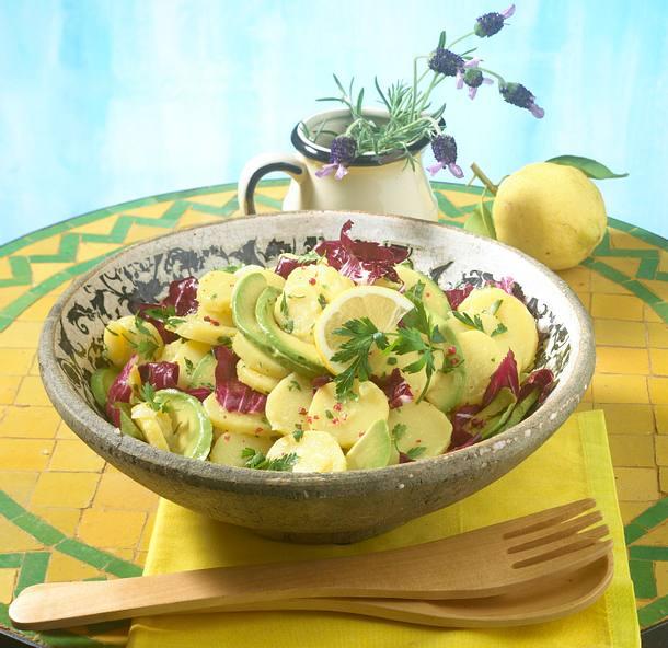 Spanischer Zitronen-Kartoffelsalat Rezept