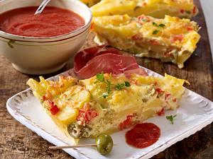 Spanisches Kartoffel-Omelet Rezept