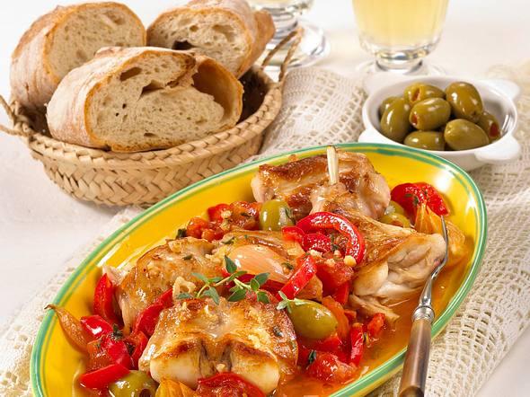 Spanisches Knoblauchkaninchen (Conejo de ajo) Rezept