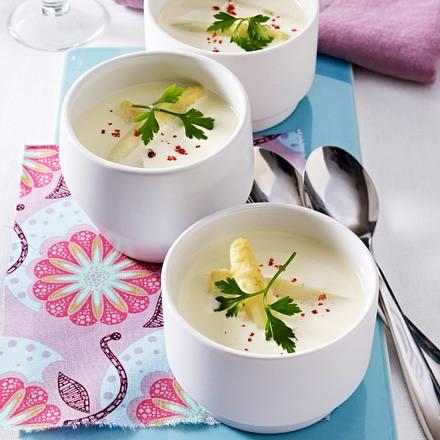 Spargel-Cremesuppe Rezept