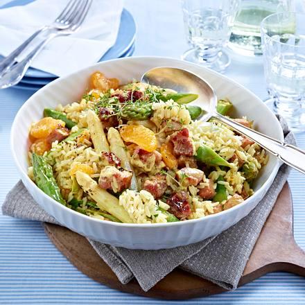 Spargel-Kasseler-Salat Rezept