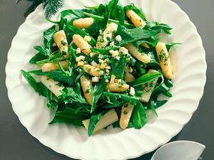 Spargel-Löwenzahn-Salat Rezept