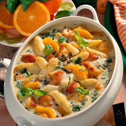 Spargel-Orangen-Geflügelragout Rezept