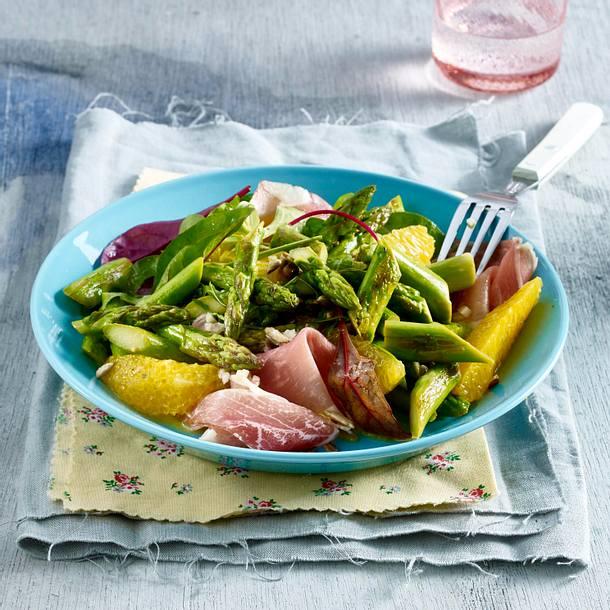 Spargel-Orangen-Salat Rezept