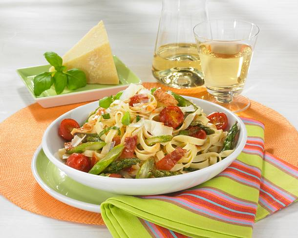 Spargel-Pasta Rezept