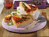 Spargel-Pizza mit Parmaschinken Rezept