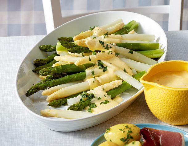 Spargel royal Rezept