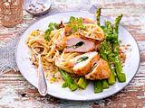 Spargel zu Hähnchen-Piccata Rezept