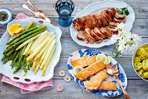 Honig-Bacon-Schweinefilet Rezept