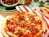 Speck-Salbei-Pizza Rezept