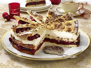 Spekulatius-Kirsch-Torte Rezept