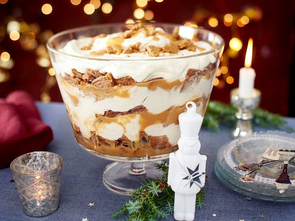 Spekulatius-Toffee-Trifle Rezept