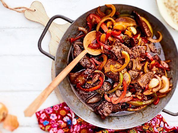 Spicy Asia-Geschnetzeltes zum Vorbereiten Rezept