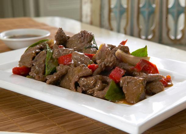 Spicy Beef mit Thai-Basilikum Rezept