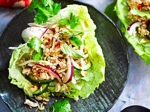 Spicy Chicken-Wrap Rezept