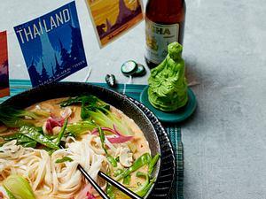 Spicy Thai Nudelsuppe Rezept