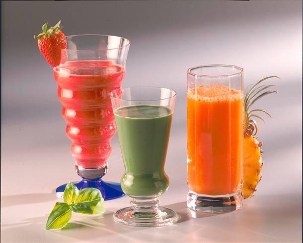 Spinat-Basilikum-Drink Rezept