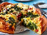 "Spinat-Feta-Quiche ""Enjoy your Greens"" Rezept"