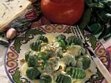 Spinat-Gnocchi in Gorgonzolasoße Rezept