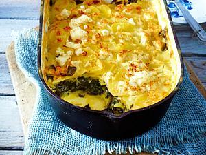 Spinat-Kartoffel-Auflauf Rezept