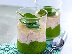 Spinat-Lachs-Terrine Rezept