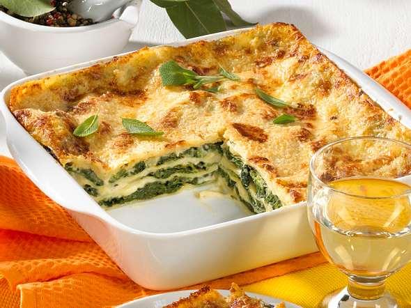 Spinat-Lasagne Rezept