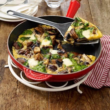 spinat pilz omelett rezept chefkoch rezepte auf kochen backen und schnelle gerichte. Black Bedroom Furniture Sets. Home Design Ideas