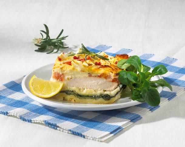 Spinat-Putenbrust-Lasagne Rezept