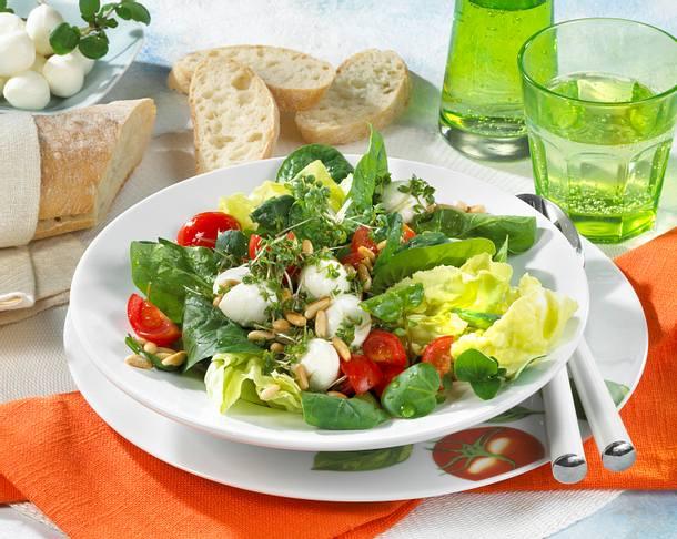 Spinat-Salat Rezept