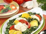 Spinat-Tomaten-Gratin mit Mozzarella Rezept