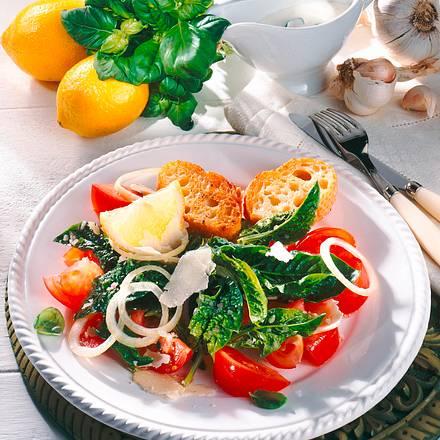 Spinat-Tomaten-Salat Rezept