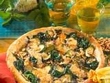 Spinat-Zucchini-Tarte Rezept