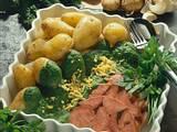 Spinatsoße zu Kartoffeln und Sülze Rezept