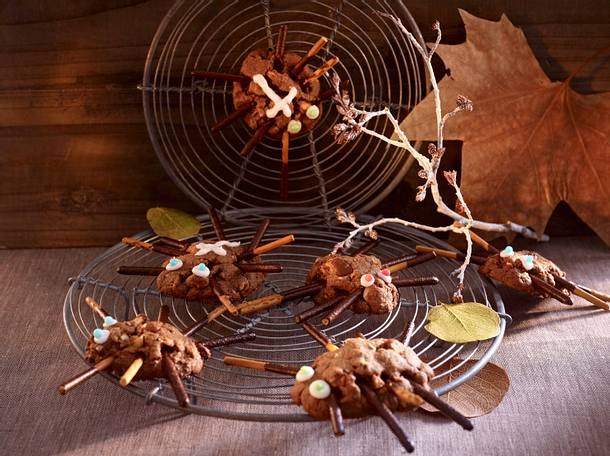 Spinnen im Netz  Rezept