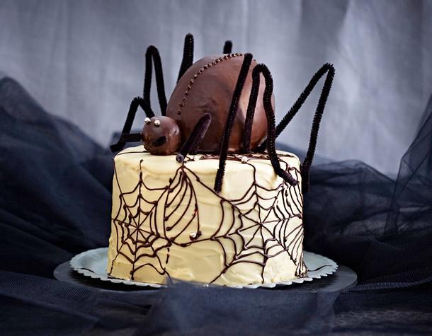 Spinnen-Torte Rezept