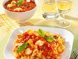 Spiralnudeln mit Tomaten-Mozzarella-Soße Rezept