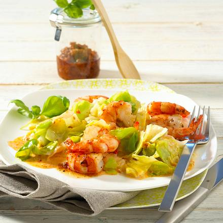Spitzkohl mit Pesto-Sahne Rezept
