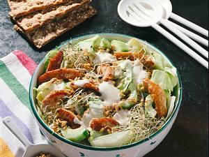 Sprossen-Hafer-Salat Rezept