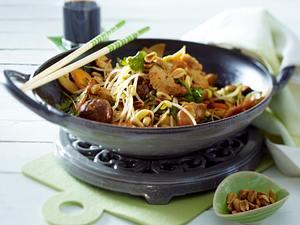 Sprossengemüse aus dem Wok Rezept
