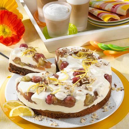 Stachelbeer-Joghurt-Torte Rezept