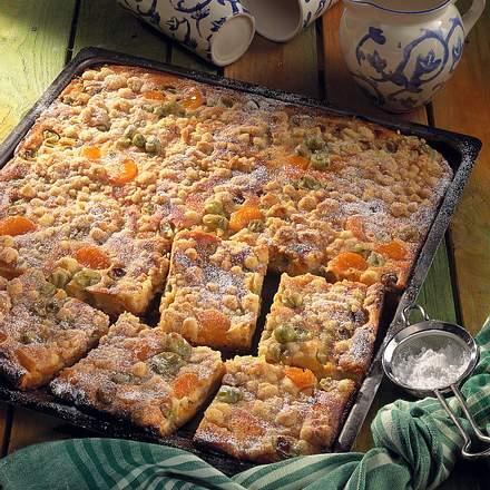 Stachelbeer-Mandarinen-Kuchen Rezept
