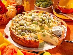 Stachelbeer-Quark-Kuchen Rezept
