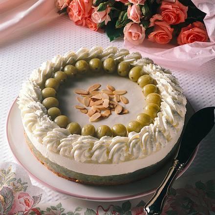Stachelbeer-Quark-Torte Rezept