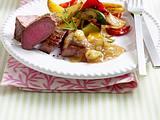 Stachelbeer-Relish zu Lamm und Gemüse Rezept