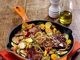 Steak in Pilzrahm Rezept